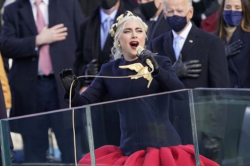 Lady Gaga a Milano per le riprese di House of Gucci