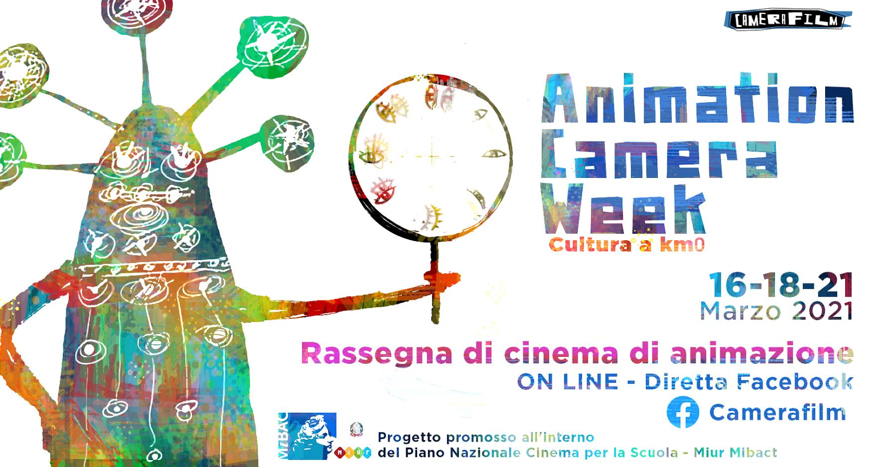 Al via martedì 16 marzo la terza edizione di Animation Camera Week