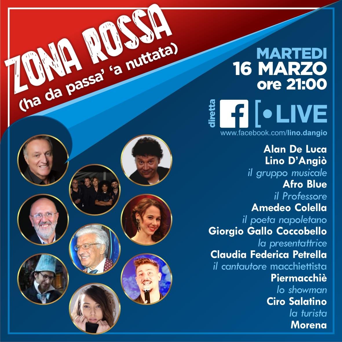 Da Koprifuoco a Zona Rossa, Lino d'Angiò e la sua banda in smart working.