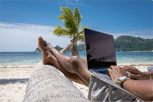 In Workcation alle Seychelles: lavoro on line, vacanza on site