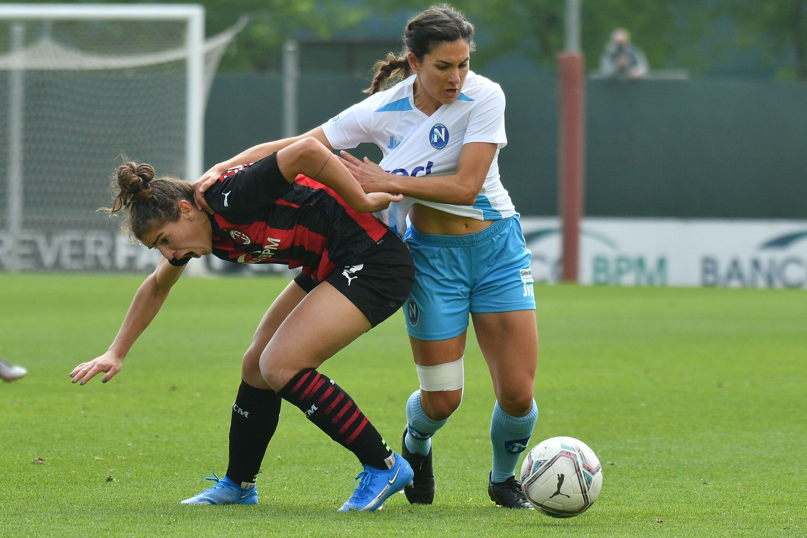 Calcio Femminile. Troppo forte il Milan per il Napoli che incappa in una sconfitta pesante 4-0