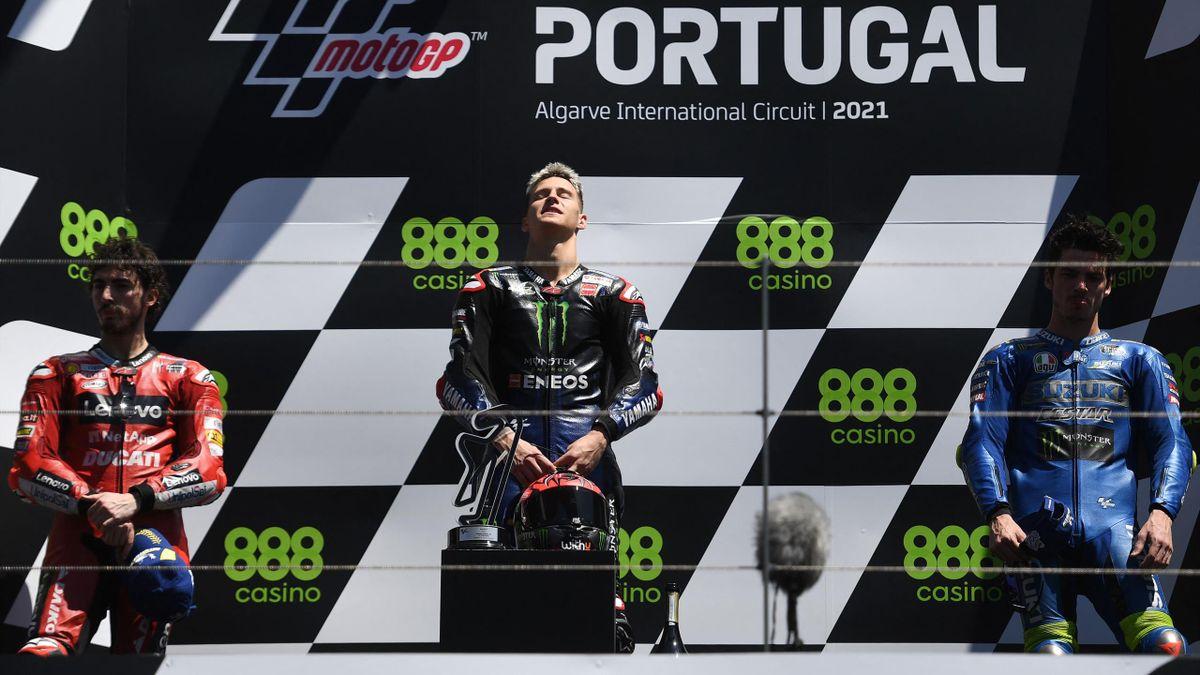 Motomondiale: Gp Portogallo, vittoria per Quartararo davanti a Bagnaia e Mir