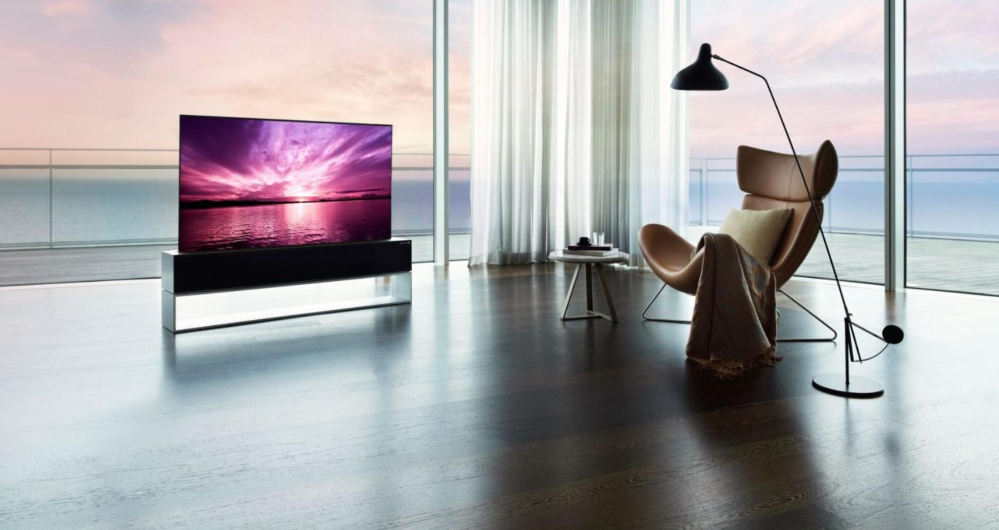 Hi-Tech: LG lancia il Tv con schermo arrotolabile