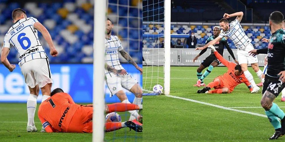 Napoli-Inter 1-1 occasione per al Maradona