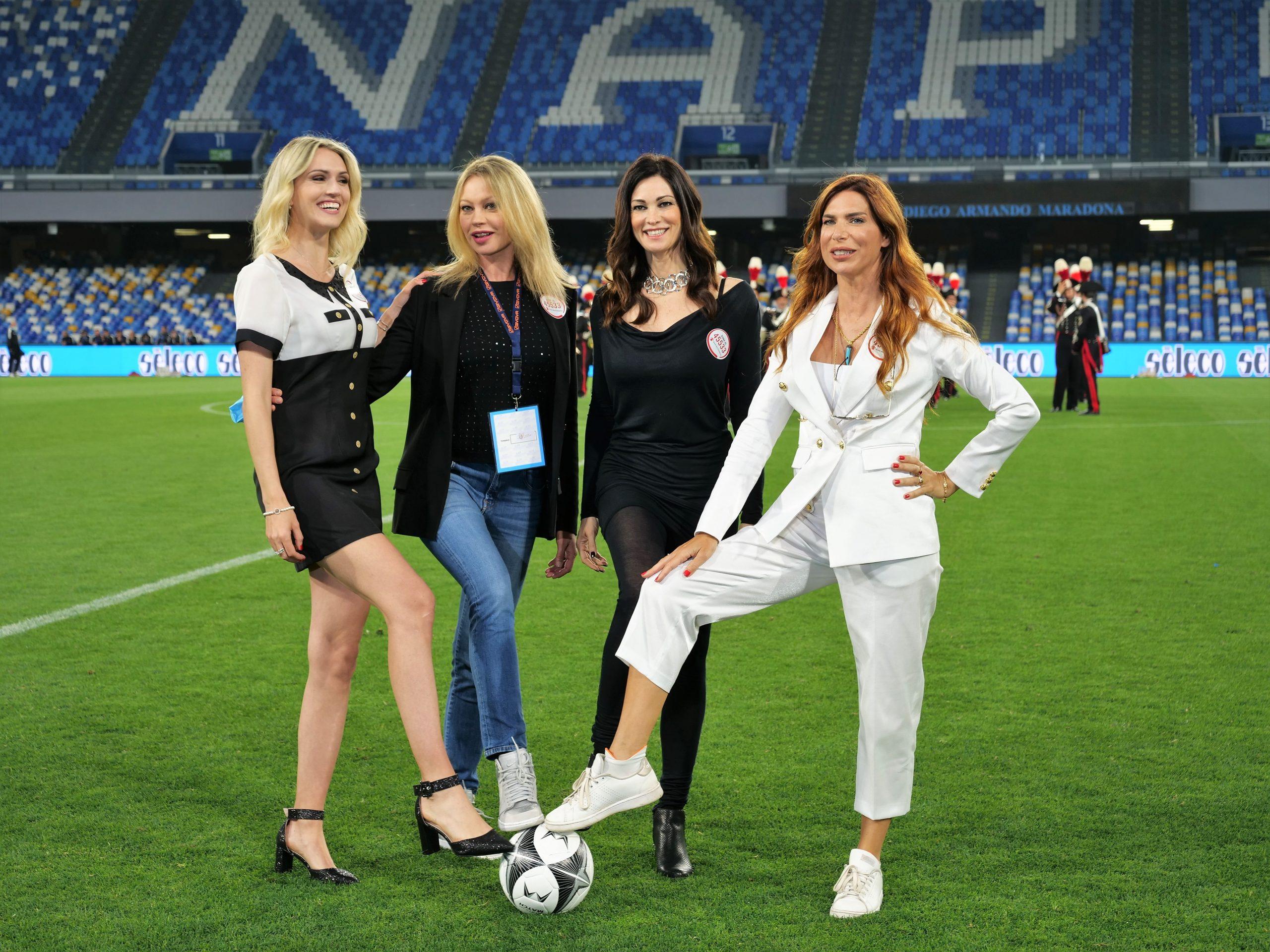 La Partita: su Rai2 l'evento benefico di calcio, conduce Fabrizio Rocca.