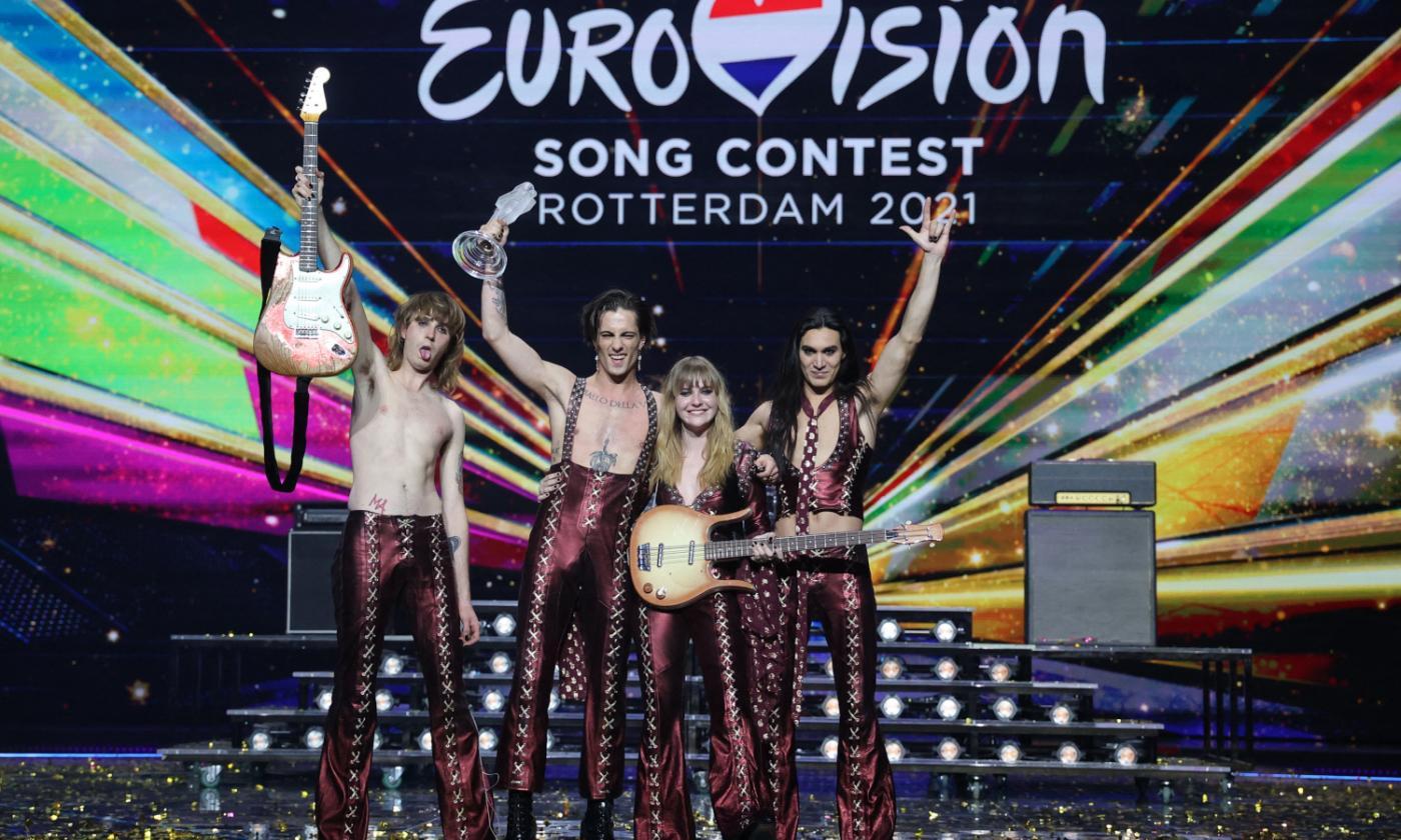 Eurovision, Maneskin: Non abbiamo mai smesso di crederci e non siamo cambiati