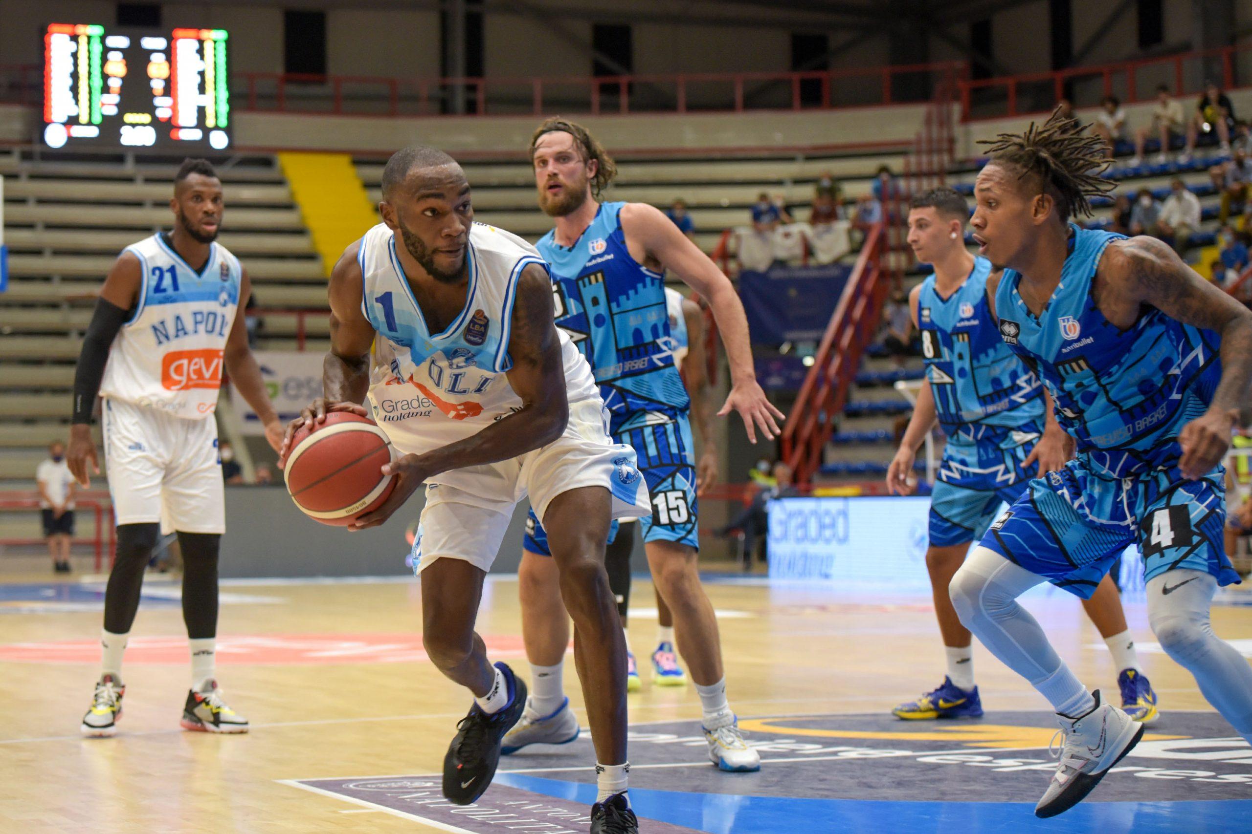 La GeVi dura tre quarti, Treviso strappa nel momento decisivo (81-74)