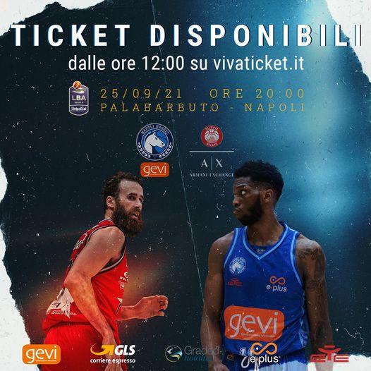 GeVi, in vendita i biglietti per la prima di gala contro l'AIX Exchange Milano.