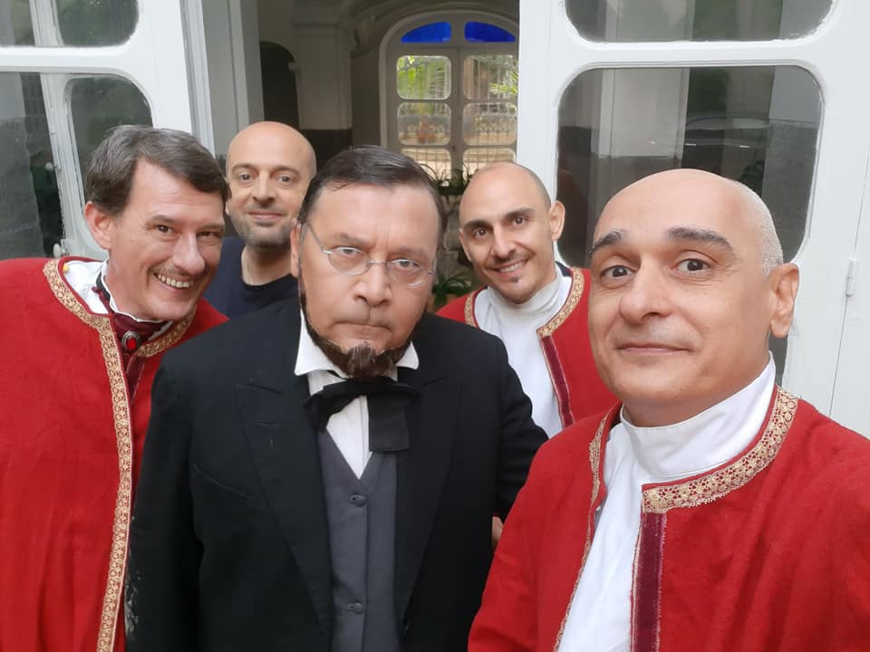 """""""I Sovrani 3"""", la storia comica del Regno dall'11 ottobre in Tv"""